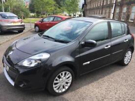 1111 Renault Clio 1.2T 16v 100bhp Dynamique Tom Tom Black 5 Door 55741mls MOT 12