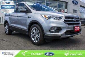 2017 Ford Escape SE CAM 1.5L BLUETOOTH HTD SEATS FORD CERTIFIED