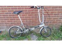 BICKERTON FOLDING BICYCLE 1980 VINTAGE