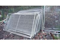 Heras fencing 3400mm X 2000mm