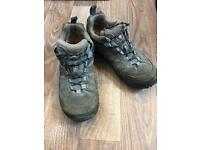 Merrell continuum water resistant vibram hiking shoes trainers boots