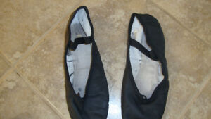 Boy's Black Ukrainian Dance Slippers