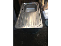 Stainless Steel Sink single drainer.