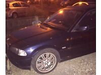 BMW 320 CI 51 Plate ** Fully working, Ready to Drive Away, Read ad, Good Condition **