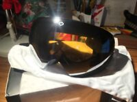 Electric Ski Snowboard Goggles - New - Two lenses RRP£180