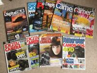 10 x Bundle of photography magazines photo in excellent condition