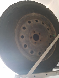 Winter tires with rims for sale.