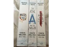 New set of 3 Patrick Ness Books