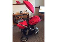 iCandy Apple pushchair and accessories