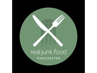 Chef wanted for new waste food restaurant in Mcr city centre