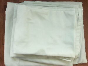 Pale green bedsheets full size