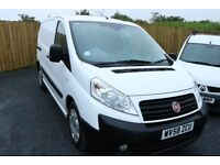 2008 Fiat Scudo, 1.6 HDI, white van, 2 side loading doors, plylined, serviced, PSV'D