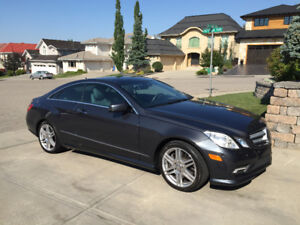 2010 Mercedes-Benz E-Class AMG sport and Premium package