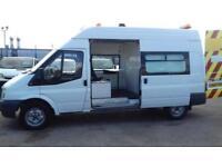 Ford Transit 2.4TDCi ( 140PS ) H/Roof 350 LWB wefare unit