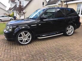 Range Rover Sport hst kit overfinch alloys