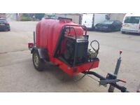 Jet washer tower light - Hydro trailer -Yanmar L100 AE / 1000 L