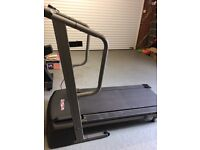 Used, Large foldable electric Tread mill Pro-Form 525. Comes with a free Exercise bike.