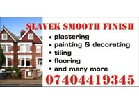 West London Daily Rate from £120 Polish tiling, plastering, painting&decorating, flooring ,handyman