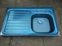 Brand New Sit On/Lay On Stainless Steel Kitchen Sink