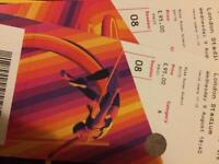 IAAF WORLD Championships CAT A. X2 tickets £95 each same as paid