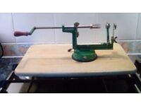 Apple Peeler - Peels, Slices and Cores apples in one easy operation