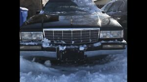 1992 Cadillac Deville Black and Gold Trim