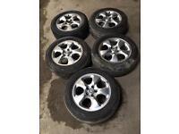 Quick sale tyre and & alloy jaguar 225/55R16