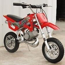 Looking for 50cc dirt bike