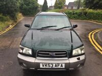SUBARU FORESTER X ALL WEATHERS