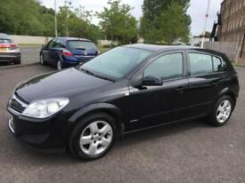 0707 Vauxhall Astra 1.6 16v 115ps Energy Black 5 Door 53708mls MOT 12m