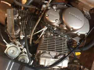 Street bike engine 250cc