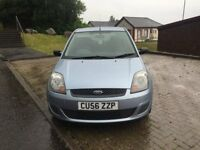 Ford Fiesta Style 1.25cc 3 door h/back 56/2006 102k service history/invoices/old mots m.o.t 21/7/18