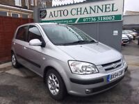 Hyundai Getz 1.3 CDX 5dr£2,375 p/x welcome FREE 6 MONTH WARRANTY. NEW MOT
