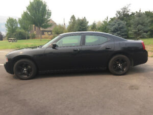 2008 Dodge Charger-Black, Low KM's