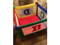 Graco Playpen/Travel cot