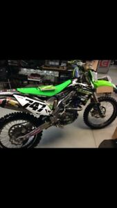 2012 kx450 tons of aftermarket part out