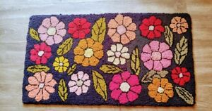 Hand Hooked Rug (50 yrs old)