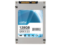 Crucial CT128M225 128GB Sold State Hard Drive (SSD)