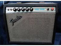 Fender Vibro Champ Silverface 1978. Rare vintage classic USA handwired combo amp