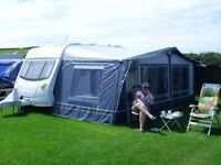 Dorema XL Full Caravan Awning