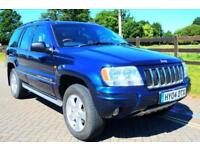 2004 04 JEEP GRAND CHEROKEE 2.7 OVERLAND CRD 5D AUTO 161 BHP DIESEL