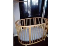 Stokke Sleepi Cot with lots of extras