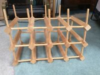 Wooden Wine Rack for up to 12 wines