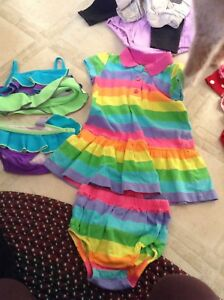 18 month Carters out fit and children's place swim suite