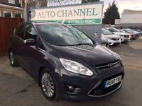 Ford C-Max 1.6 TDCi Titanium 5dr£5,495 p/x welcome 6 MONTHS FREE WARRANTY.NEW MOT
