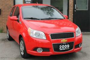 2009 Chevrolet Aveo LS *NO ACCIDENTS, NAVI, REAR CAM, 86KM*