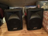 "2x Audio 2000's ASP5207 Spearkers - 12"" 360W"