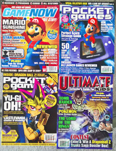 Lot of 4 Video Game Magazines