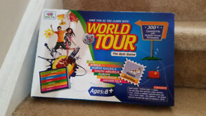 World tour knowledge game for sale!