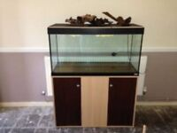 Large Fish Tank / Aquarium - Fluval Roma 200
